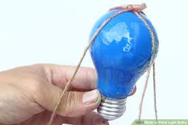 balloons shaped like light bulbs 3 ways to paint light bulbs wikihow