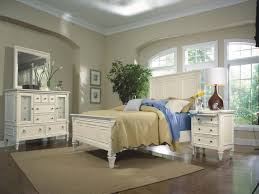 4 Piece Bedroom Furniture Sets Furniture Ashby 4 Piece Panel Bedroom Set In Patina White