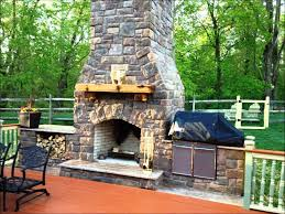 outdoor stone fireplace how to build an outdoor stone fireplace diy ideas nice