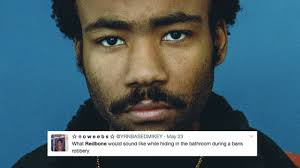 Album Cover Meme - childish gambino s redbone is the latest song to be turned into