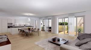 Living Room Kitchen 3d Interior Rendering Interior 3d Visualization Architectural 3d