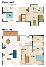 small rustic cabin floor plans craftsman rustic cabin floor plans design ideas and decor
