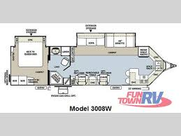 Rockwood Camper Floor Plans New 2011 Forest River Rv Rockwood Wind Jammer 3008w Travel Trailer
