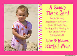birthday thank you card dot thank you card pink yellow photo playful