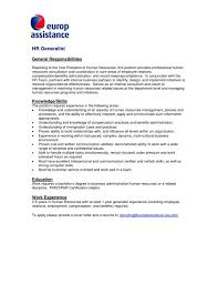 human resources cover letter efficiencyexperts us