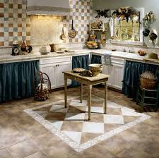 tile ideas for kitchen floors decorative kitchen floor tile design home interiors