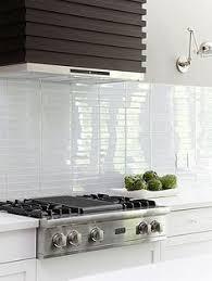 Tile Kitchen Backsplash This Glass Tile Backsplash Could Paint Watercolor Style On