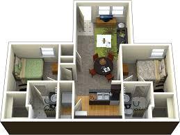2 floor bed 2 bedroom 2 bathroom
