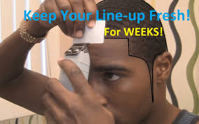 how to keep your line up fresh after a hair cut youtube