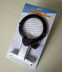 small magnifier with light eyeshot l magnifier with light embroidery 2x hands free 5x lens