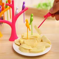 cuisiner le fruit de l arbre à chaude 1 set de couleur de sucrerie fruit fourches arbre branches
