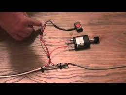 how to wire a blue water led switch and dimmer youtube