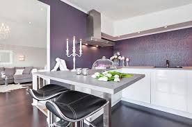 purple kitchen backsplash creative beautiful washable wallpaper for kitchen backsplash