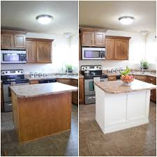 kitchen cabinet base molding ideas add molding to a builder grade kitchen island an easy how