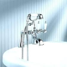 bathtub faucet shower attachment shower head that attaches to tub faucet shower concept and ideas blog