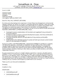 human resources analyst cover letter