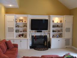 built in entertainment centers fireplace entertainment center