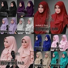 tutorial hijab pesta 2 kerudung muf