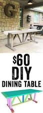 Amazing Diy Table Free Downloadable Plans by Best 25 Diy Dining Table Ideas On Pinterest Diy Table