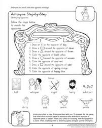 antonyms step by step u2013 2nd grade english worksheet u2013 jumpstart