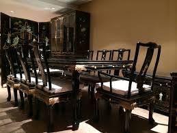 Oriental Dining Table by Oriental Dining Room Set Marceladick Com
