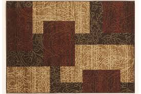 rosemont medium rug in red brown gold by ashley
