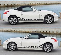 mitsubishi ralliart stickers ssk150 nissan motorsport fairlady z nismo 370z racing stripes