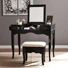 Furniture Vanity Table Makeup Vanities Bedroom Furniture The Home Depot