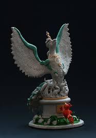 God Statue Phoenix God Statue By Teezkut On Deviantart