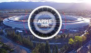 apple siege la vidéo du jour le nouveau siège d apple park un mois avant l