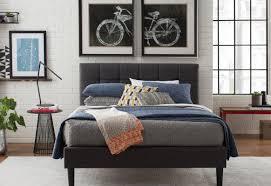 Wall Tent Platform Design by Zipcode Design Colby Upholstered Platform Bed U0026 Reviews Wayfair