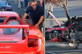 porsche gt crash paul walker dead porsche warning gt which fast