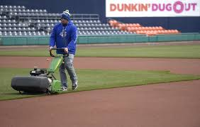 How To Build A Baseball Field In Your Backyard Play Ball Hartford Yard Goats Take The Field For First Game At