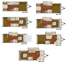 Rockwood Camper Floor Plans Heartland Mpg Travel Trailer Floorplans Travel Trailer