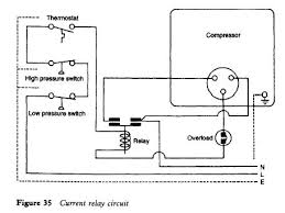 refrigerator current relay refrigerator troubleshooting diagram