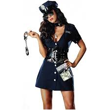 cop costume dreamgirl women s corrupt cop costume clothing