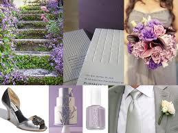 april wedding colors wedding inspirations purple and gray