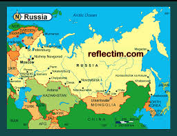 map of russia travel