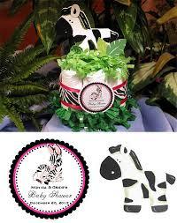 lmk gifts baby shower zebra diaper cake centerpiece