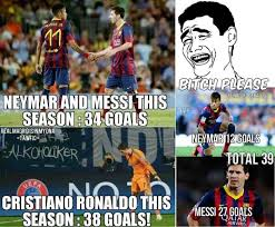 Funny Messi Memes - messi neymar vs ronaldo fansfoot you ll never laugh alone