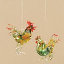 rooster ornament chicken decoration godbout