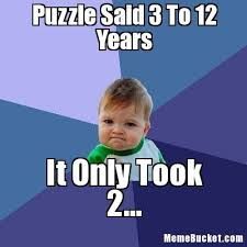 Create Your Own Meme Picture - puzzle said 3 to 12 years create your own meme humor