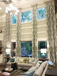 Curtains High Ceiling Decorating Curtains For High Ceiling Windows Ghanko