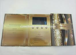 Indian Wedding Cards Usa 4 3 U0027 U0027 Customized Lcd Wedding Card Design From Indian Wedding