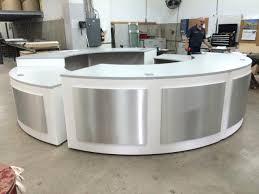 Rounded Reception Desk Circular Reception Desk Semi Circle Reception Desks Small Half