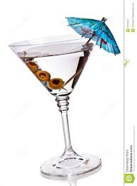 martini olive clipart martini glass with olives and umbrella stock image image 16761551
