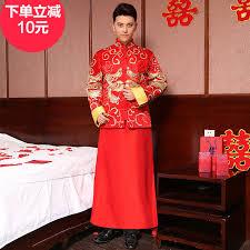 buy xiu clothing chinese men u0026 39 s dress and groom wedding dress