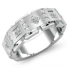 18ct white gold wedding ring 18ct white gold one carat diamond wedding ring jewellery of noble