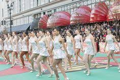 rockettes macy s day parade winter and