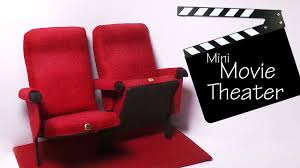 theater seats for home miniature movie theater chairs tutorial polymer clay u0026 mixed